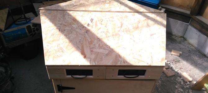 【製作】作業台(天板)の製作(2)