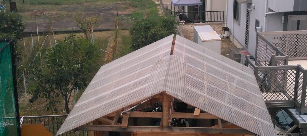 【雑記】台風18号で屋根が飛ぶ!