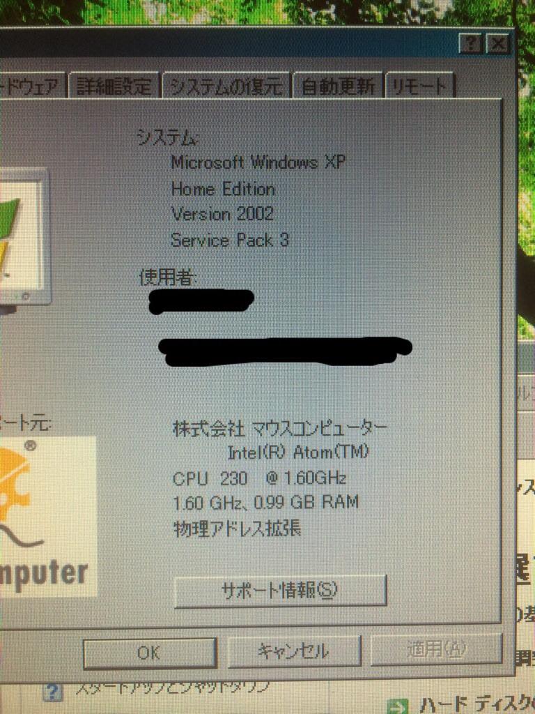【導入】きっかけは子供用PC